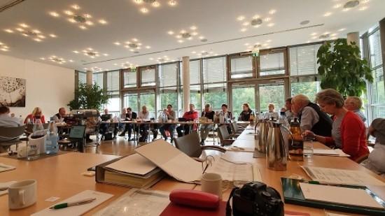 Die Mitglieder der SPD-Regionsfraktion Hannover auf der Haushaltsklausur 2019