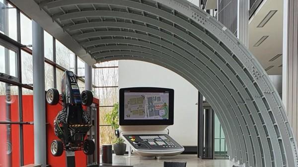 Blick in die Räume des Produktionstechnischen Zentrums