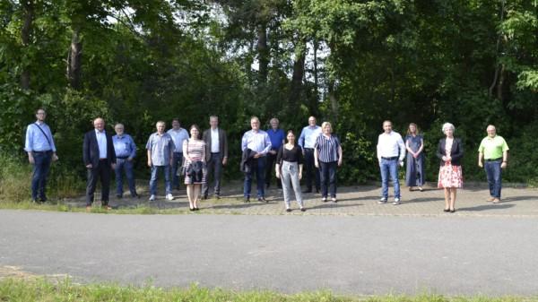 SPD-Regionsfraktion Hannover informiert sich vor Ort zum Neubau des Krankenhauses in Großburgwedel