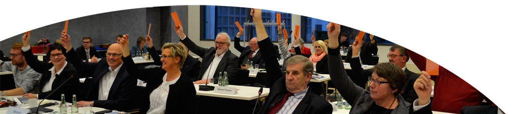 Die SPD-Fraktion in der Regionsversammlung am 17.12.2019