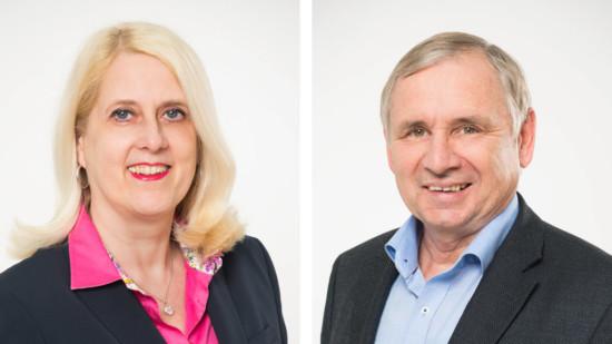 Cornelia Busch und Rudolf Alker