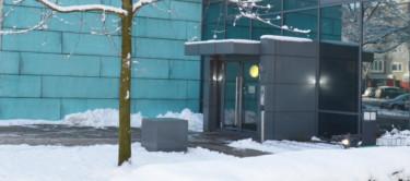 Das Regionshaus im Winter