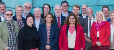 Die Mitglieder der SPD-Regionsfraktion Hannover